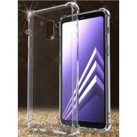 ANTI CRACK case Samsung A8 - A8 Plus 2018 softcase casing tpu cover hp