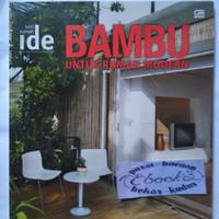 Seri rumah ide Bambu untuk rumah modern