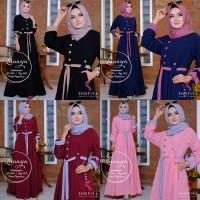 Gamis Muslimah/ Dress (LUNAYA + PASHMINA) Ori Shofiya