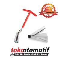 Kunci Busi 16mm Standar & Feller Gauge Blades (0.05-1.00) 13 Blades