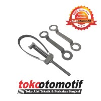 Flexible Flywheel Holder & 2pcs Coupling Nut Wrench (34x39, 39x41)