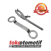 Flying Wheel Pliers + Coupling Nut Wrench (39x41) GRIP-ON Germany