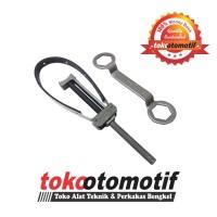 Flexible Flywheel Holder + Coupling Nut Wrench (39 x 41) GRIP-ON