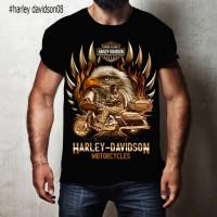 Kaos 3D Harley Davidson 08