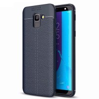 Soft Case / TPU Leather / Samsung Galaxy J6 2018 - Auto Focus
