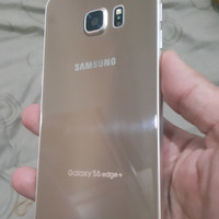 Samsung S6 Edge 64gb Gold normal Ori minus tompel cuil murah segel