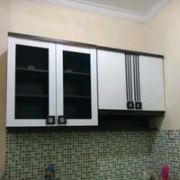 Kitchen set / Lemari gantung / lemari sayur set atas