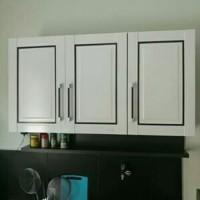 Lemari 3 pintu gantung / lemari sayur / lemari dapur
