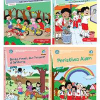 Paket Buku Tematik SD Kelas 1 Semester 2 Revisi 2017