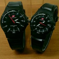 Jam Tangan Swiss Army Couple (Waterproof) Murah