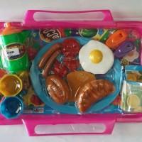 Mainan Nampan Set Size Besar Eksklusive