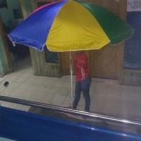 Payung Tenda Pelangi Ukuran 260cm Tutup Besi