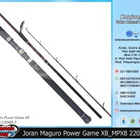 Rod Joran Pancing Spinning Maguro Power Game XB