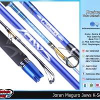 Rod Joran Pancing Spinning Maguro Jaws K series Pe 3 6