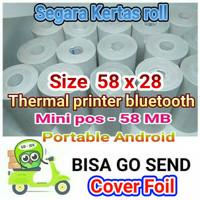 kertas kasir thermal size 58 x 30