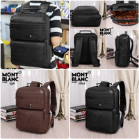 11 Backpack Laptop MONTBLANC A1400 Murah Batam