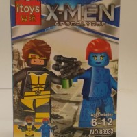 Jual Lego kw Batman Cyclops and Friend Murah