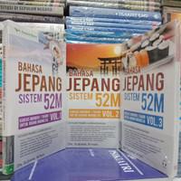 BAHASA JEPANG SISTEM 52M VOL 1 /3-ORIGINAL PLUS CD