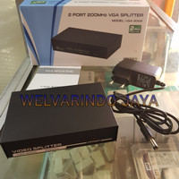 VGA Splitter Cabang 2 port adaptor