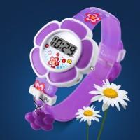 PROMO Fashion Anak: Jam Tangan Quartz Digital Desain Bunga untuk