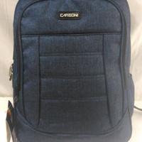 Tas Ransel / Backpack, Bahan Kanvas, Merk Carboni