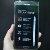 Samsung Galaxy Note 4 Second Bekas Mulus Original Fullset