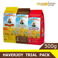 Haverjoy Trial Pack Bundle All Varian 500g - 3 Pcs