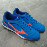Best Grad Ori Vietnam!! Sepatu Futsal Mizuno Kualitas Grad Ori - Biru,