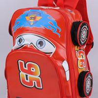 Tas Sekolah Anak Laki2 Car Merah