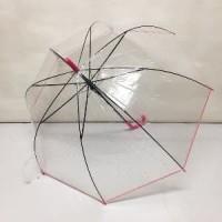 LART - Payung tongkat transparan mangkok bintang - 585 Diskon