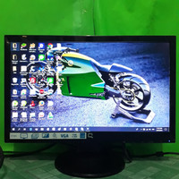 LED Monitor Komputer Compaq 19inch wide F191