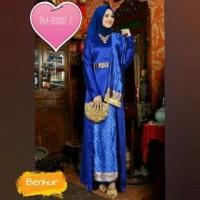 Trend Busana Muslim TM-00007 E setelan tunik Arifa biru benhur baju