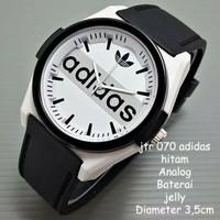 Jam tangan wanita /cewe /adidas/jtr 070 hitam