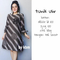 Dress Batik Danar Hadi, Dress Batik Brokat
