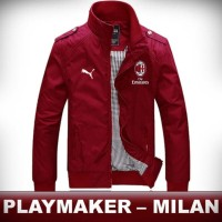jaket ac milan mayer waterproof