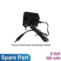Ocean Toy Spare Part Charger 6v 500 mah Motor Halilintar/Torna