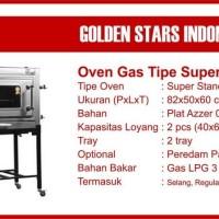 Oven Gas GOLDEN STAR super standard