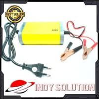 Casan Aki Motor Portable Motorcrycle Car Battery Charger 12v 2A