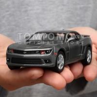 Diecast Chevrolet Camaro (Gray) Miniatur Mobil Mobilan Mainan Anak