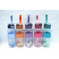 Botol Minuman Plastik Botol minum clip up kapasitas 1 liter DB- 1152