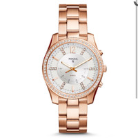 Smartwatch Fossil Hybrid Q Scarlette FTW5016 Rose Gold Original