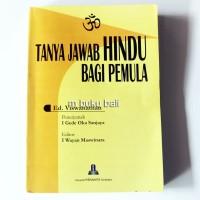 Tanya Jawab Hindu Bagi Pemula