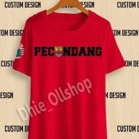 Kaos Tshirt Baju Combed 30S Distro Persib Pecundang Persija Viking Jak