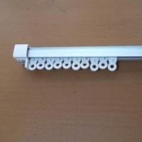Rel Vitrase/Tirai/Dalaman Gorden Bentuk Kotak ukuran 2 meter