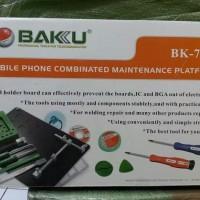 Obeng Opening Tools Hp Tablet Set BAKU BK 7015 Alat Hp BGA TOOLS