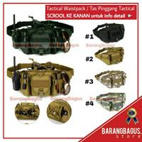Bag Tactical Army / Tas Hp Gunung Outdoor / Tas Multifungsi