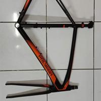 Frameset Frame Rangka Sepeda polygon Strattos Five New Free Ongkir