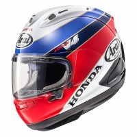 Arai RX7X RC 30 Honda Original Helm Full Face - Black White Blue