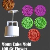 100gr-FLOWER-MC Mooncake Mold