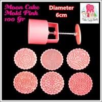 100gr-Mooncake Mold Pink